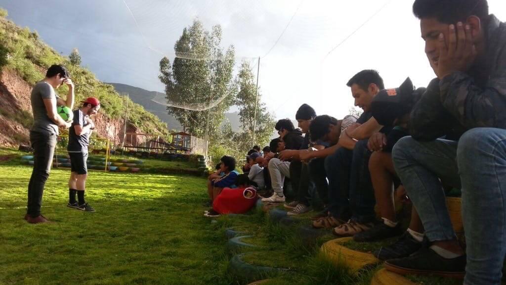Match de foot et évangélisation à plus de 3000 m d'altitude !