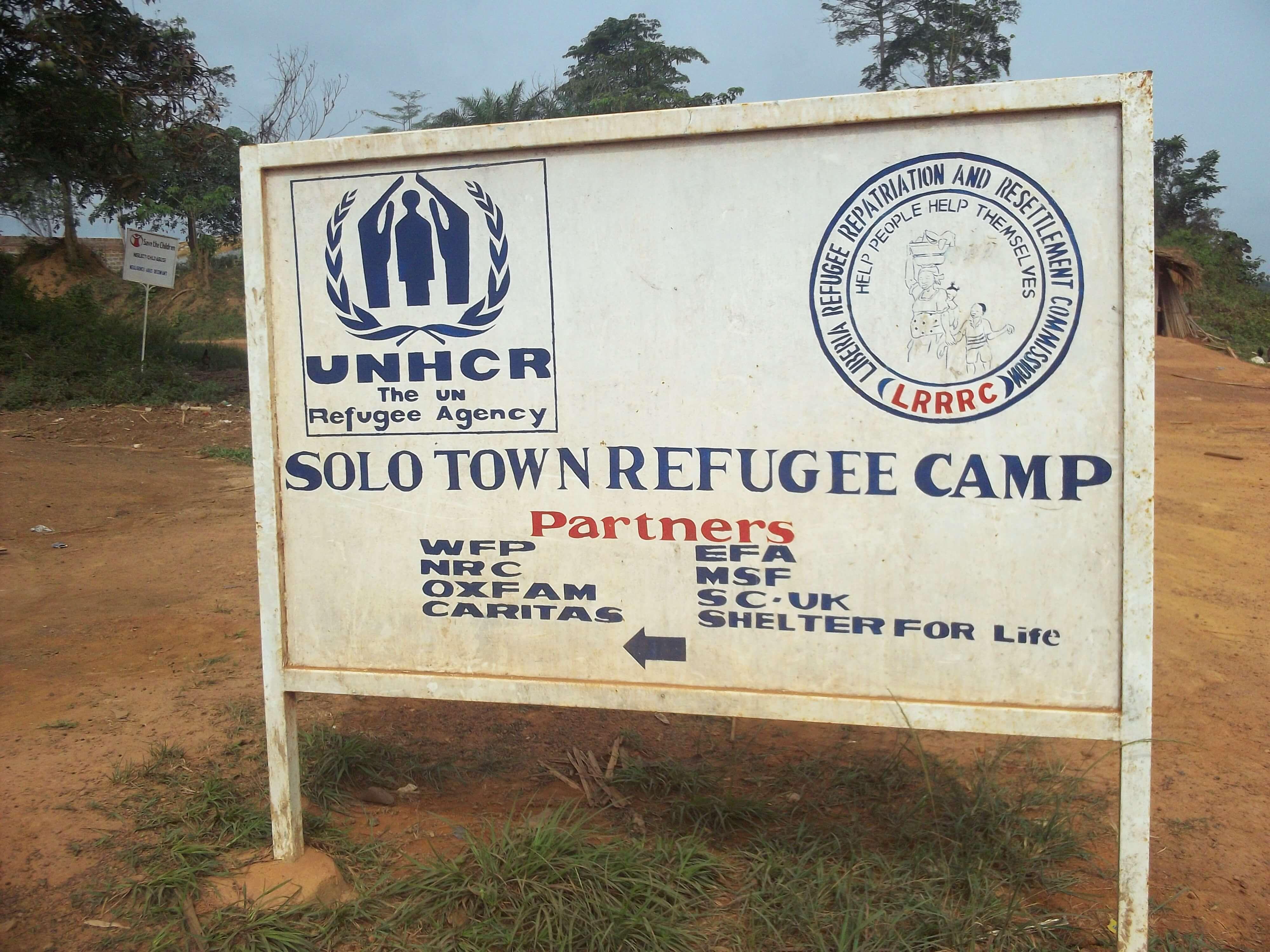 Missions dans les camps de réfugiés : des milliers d'Ivoiriens ont traversé le fleuve  pour échapper