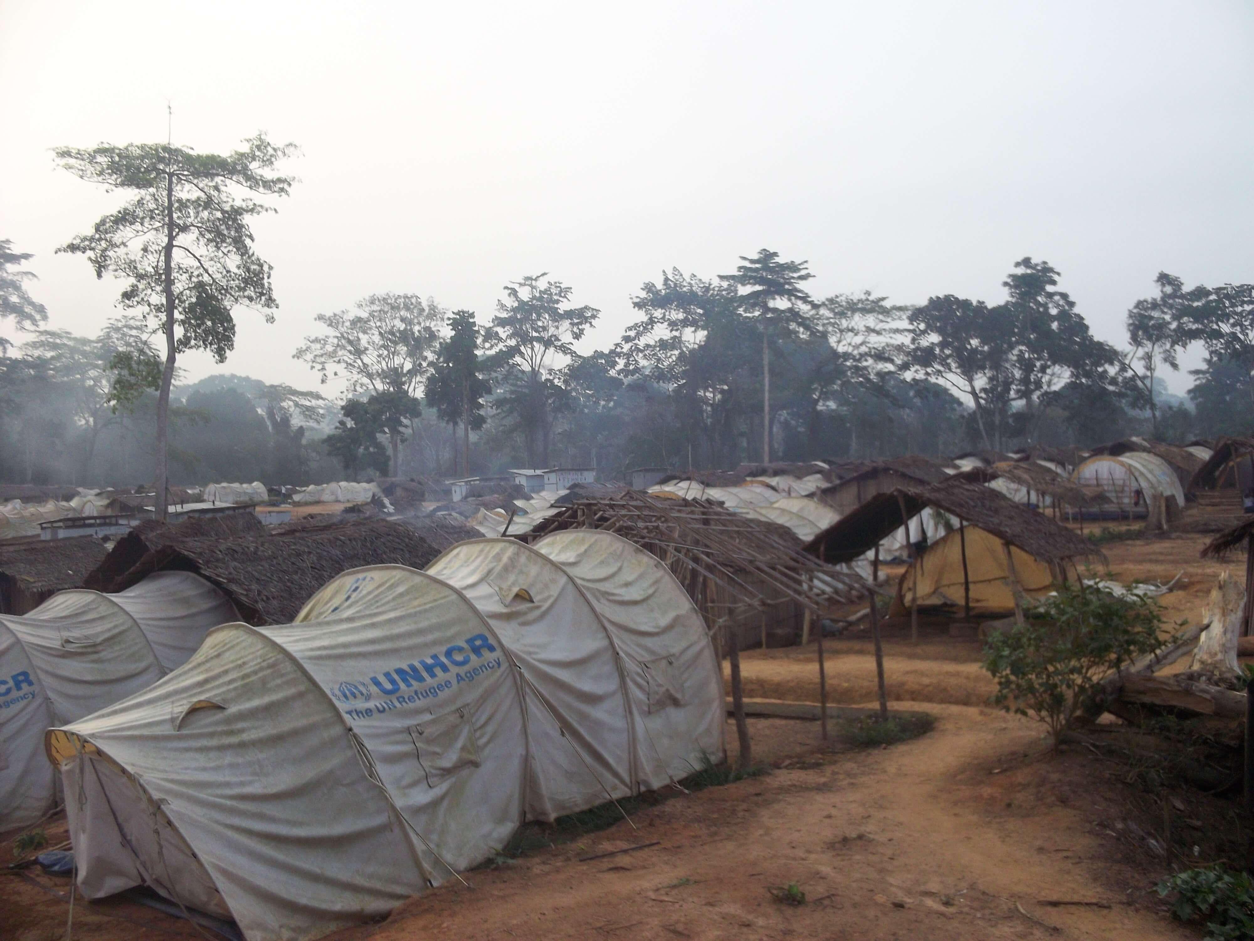 Tentes des Nations Unies