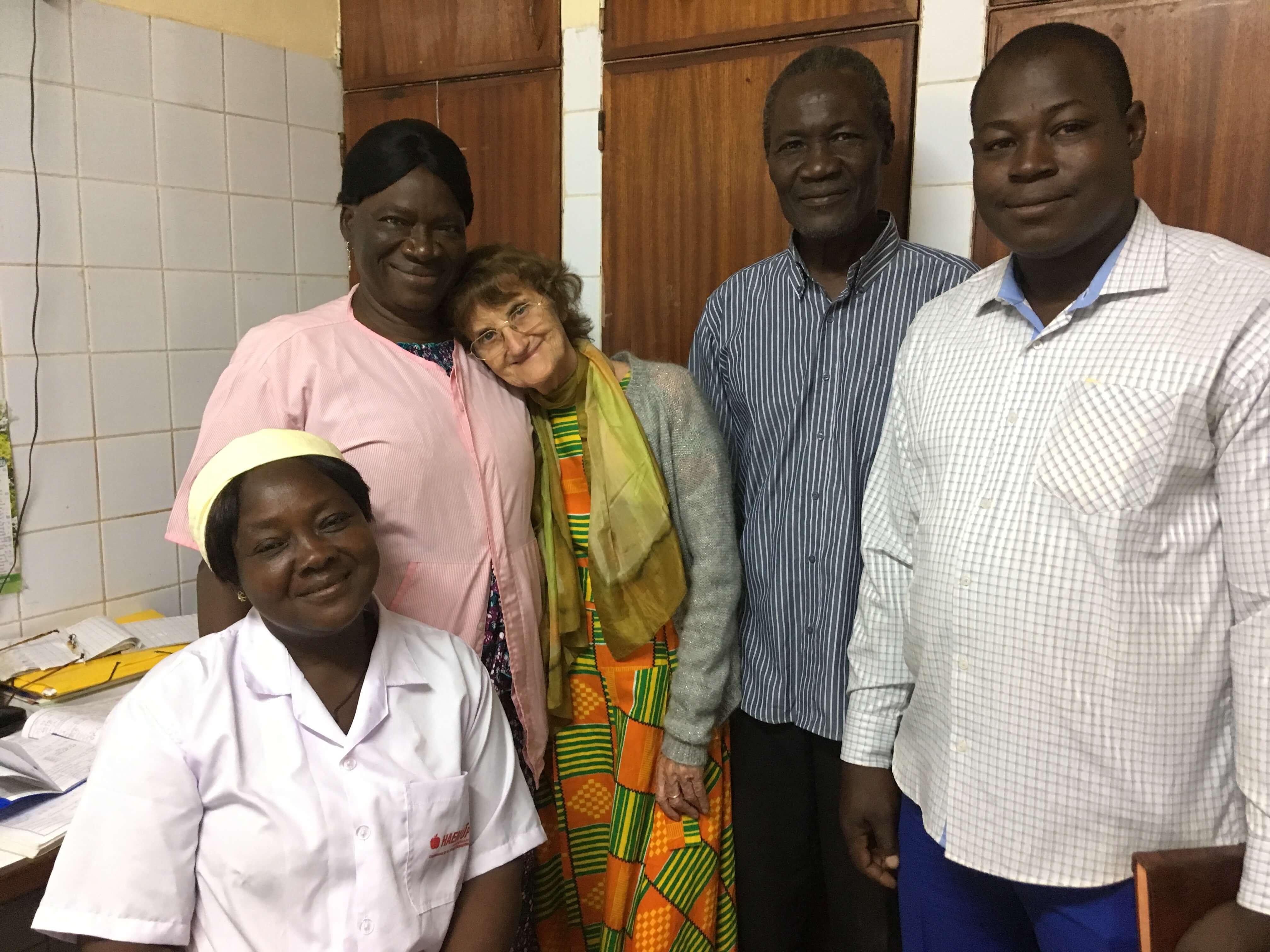 A l'hôpital des Assemblées de Dieu de Schiffra à Ouagadougou