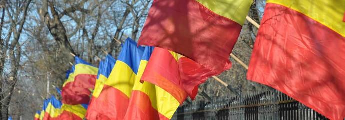 Drapeaux de la Roumanie