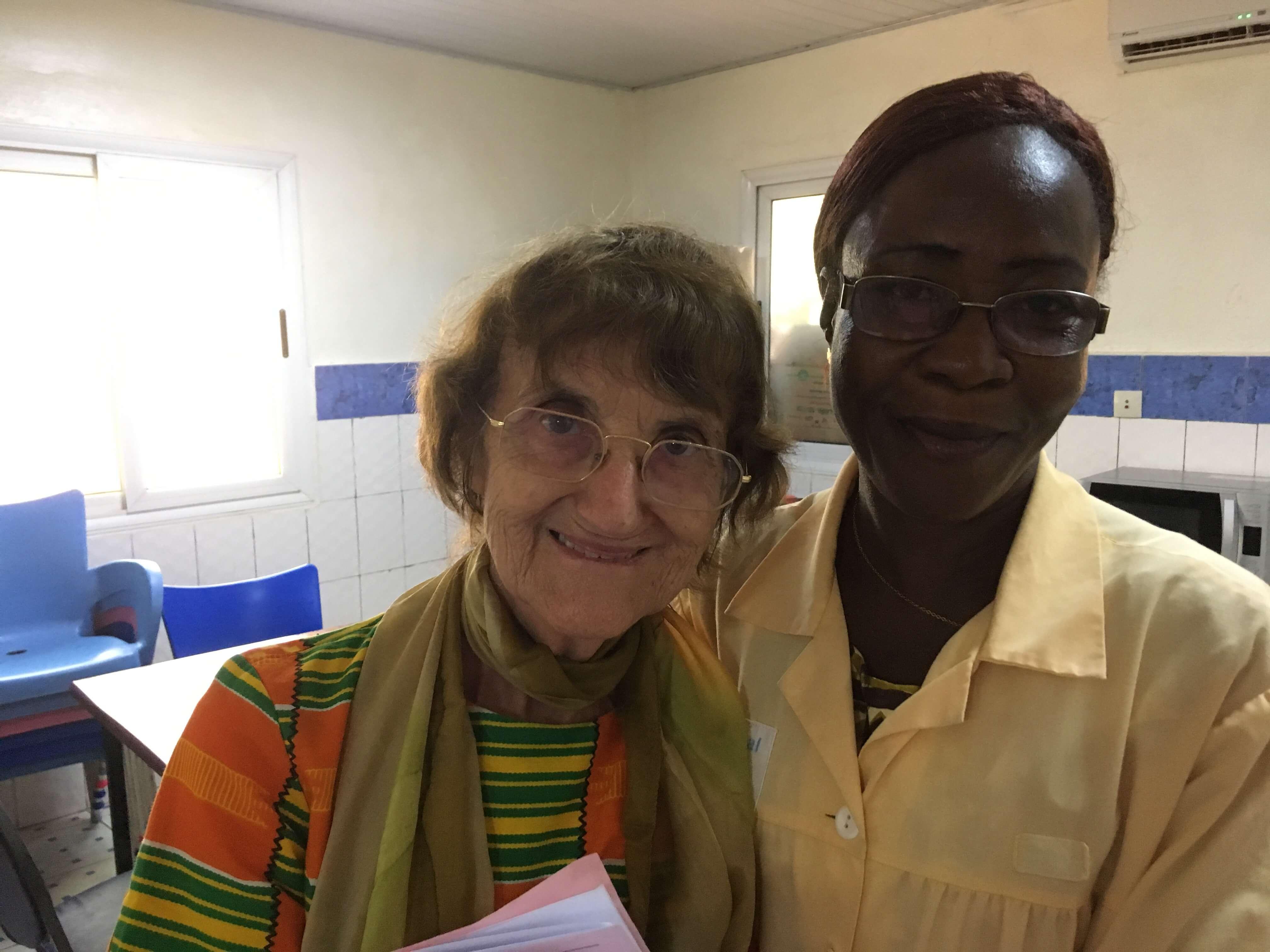 Une française, directrice de l'hôpital Schiffra