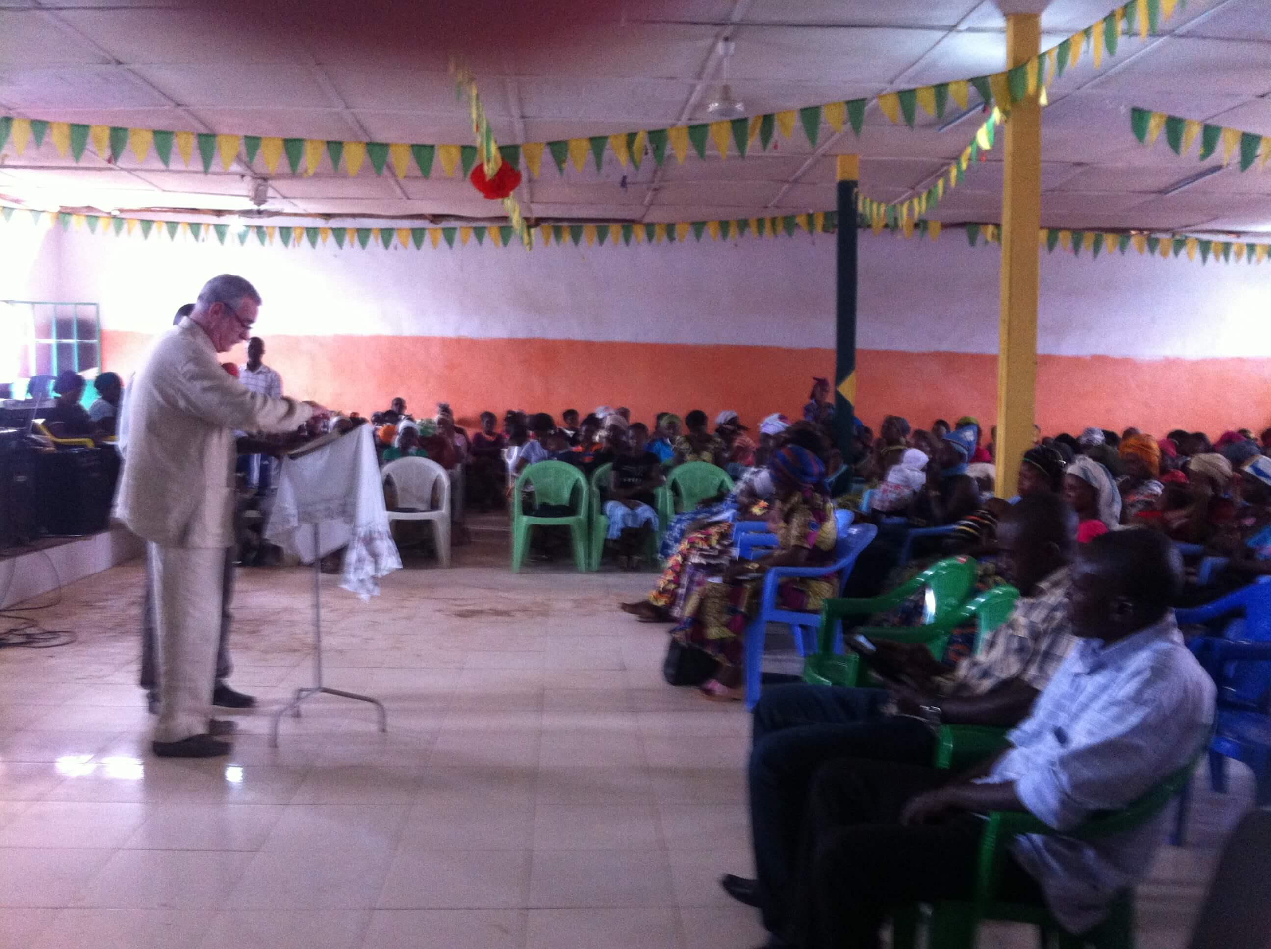 Partage du pasteur Maurice qui nous accompagnait dans cette mission