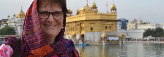 Temple d'or d'Amritsar haut-lieu Sikh Punjab