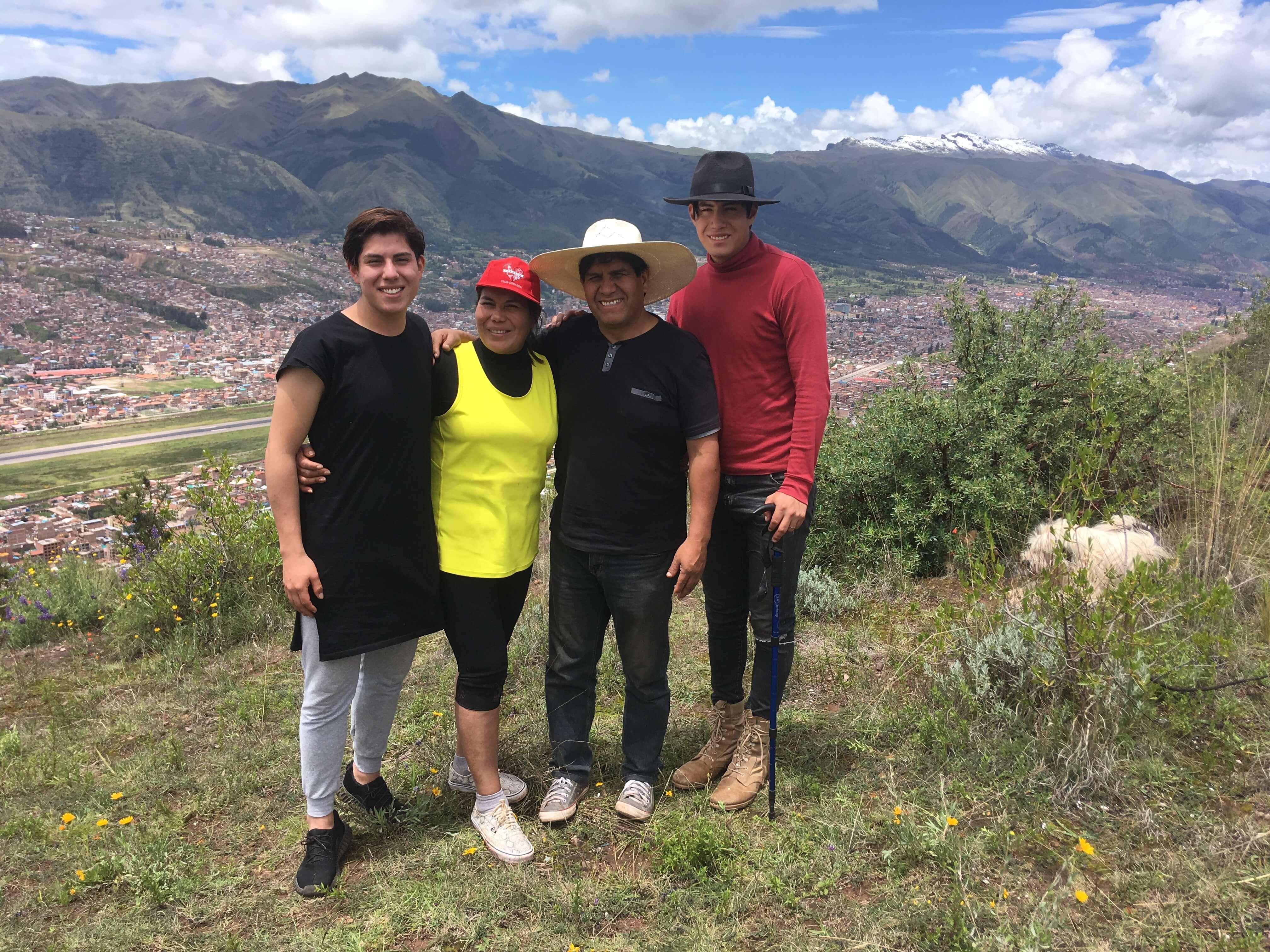 La montagne de la foi à Cusco