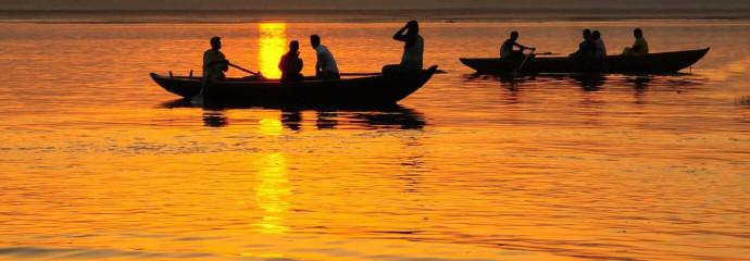 Un fleuve sacré de l'Inde