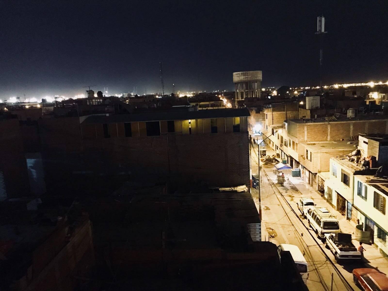 Callao by night, quartier chaud de Lima