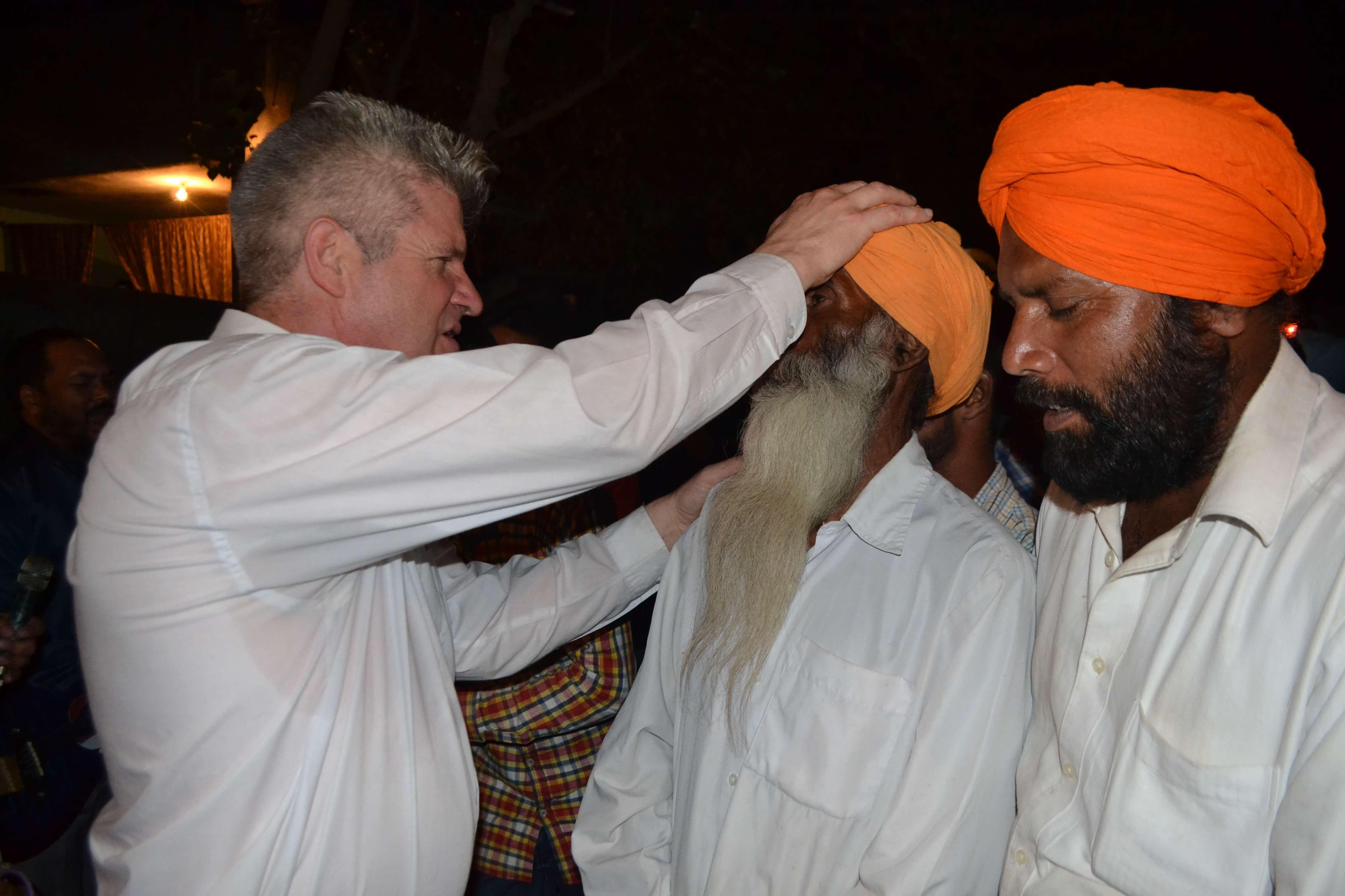 Prière pour des Sikhs
