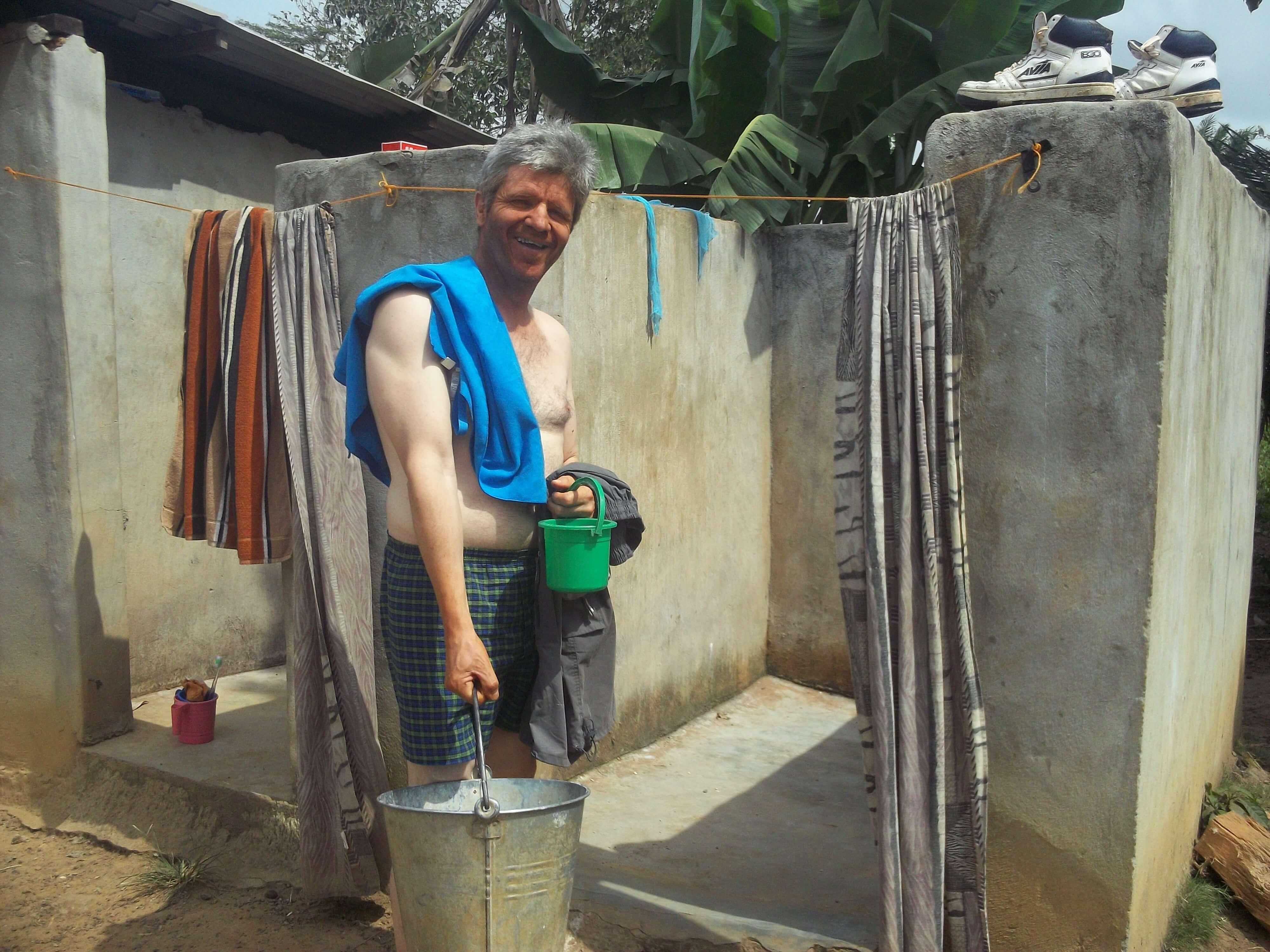 Besoin d'une bonne douche à l'ancienne !
