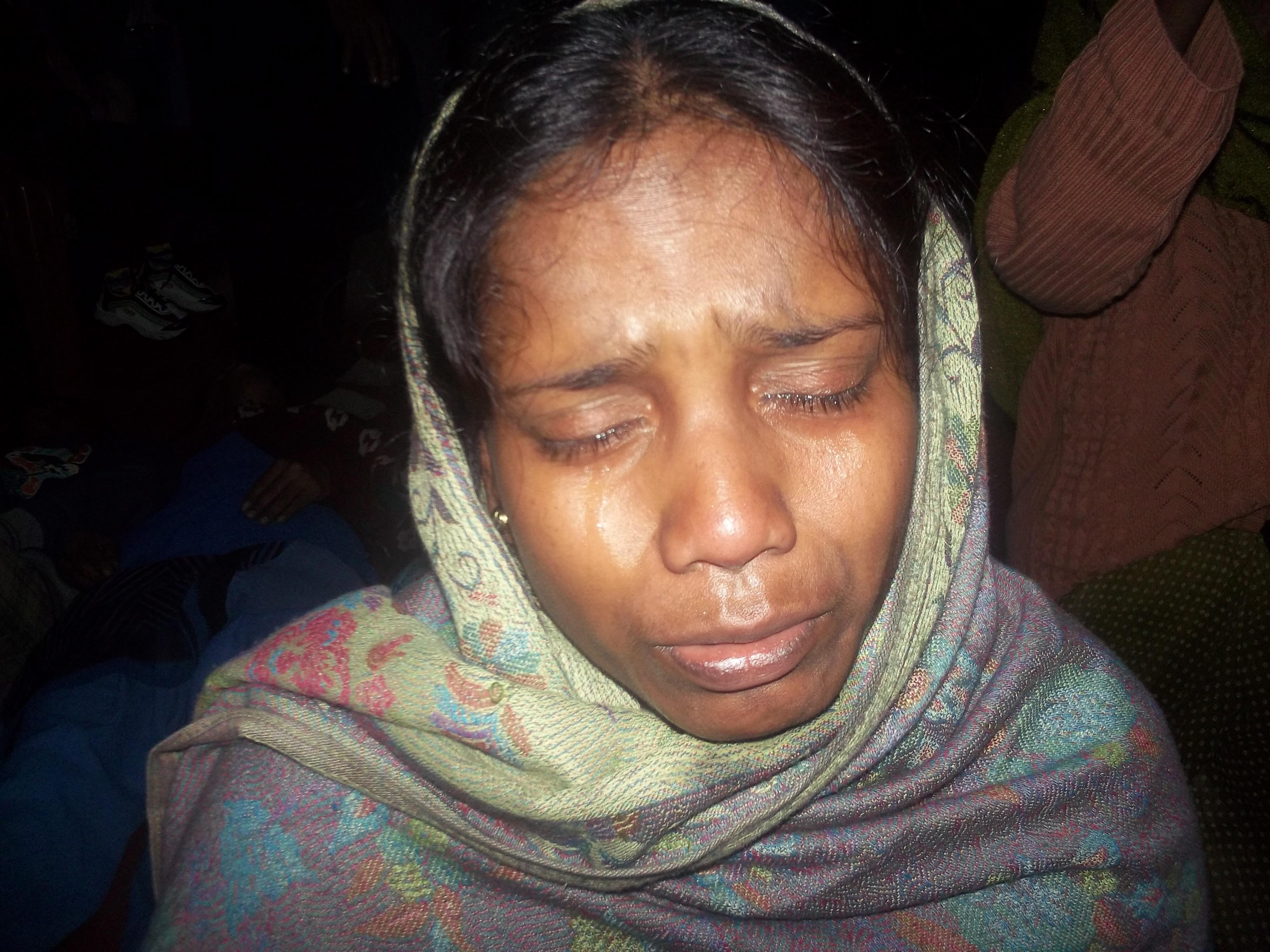 La condition féminine n'est pas facile en Inde : dans les temps de ministère, on voit beaucoup de la