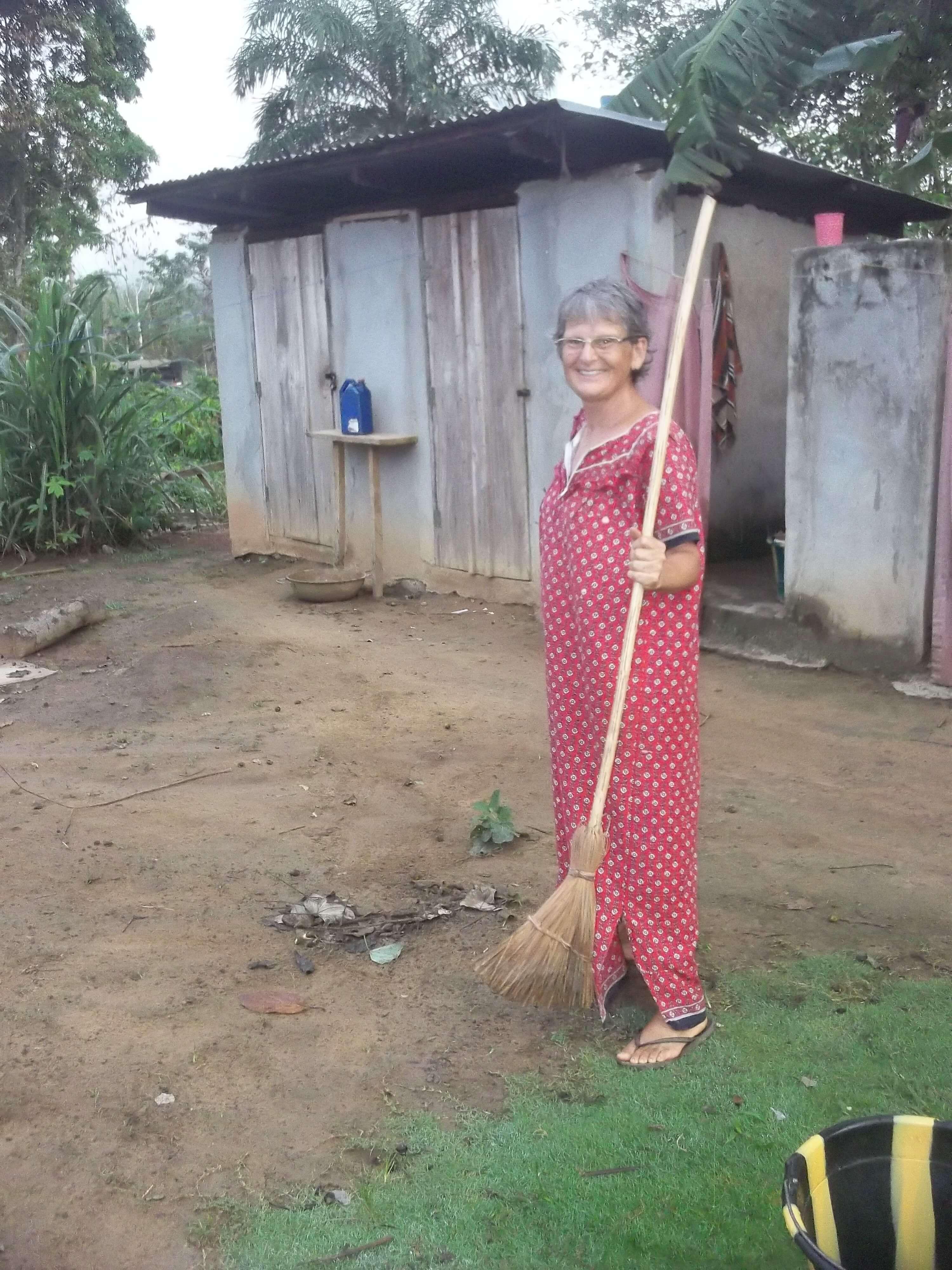 Christine veut finir en beauté sa mission au Libéria