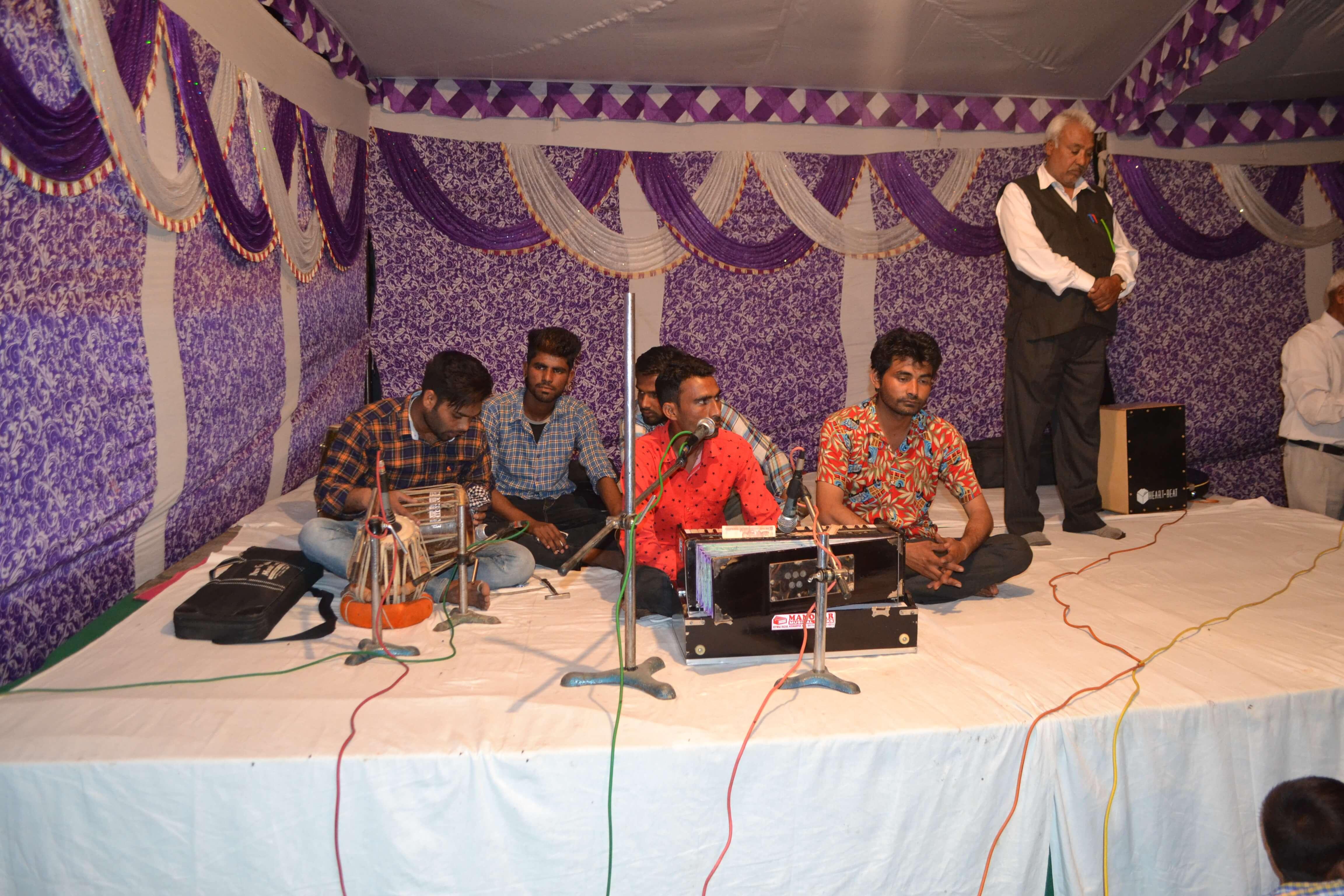 Musique traditionnelle du Penjab à notre réunion