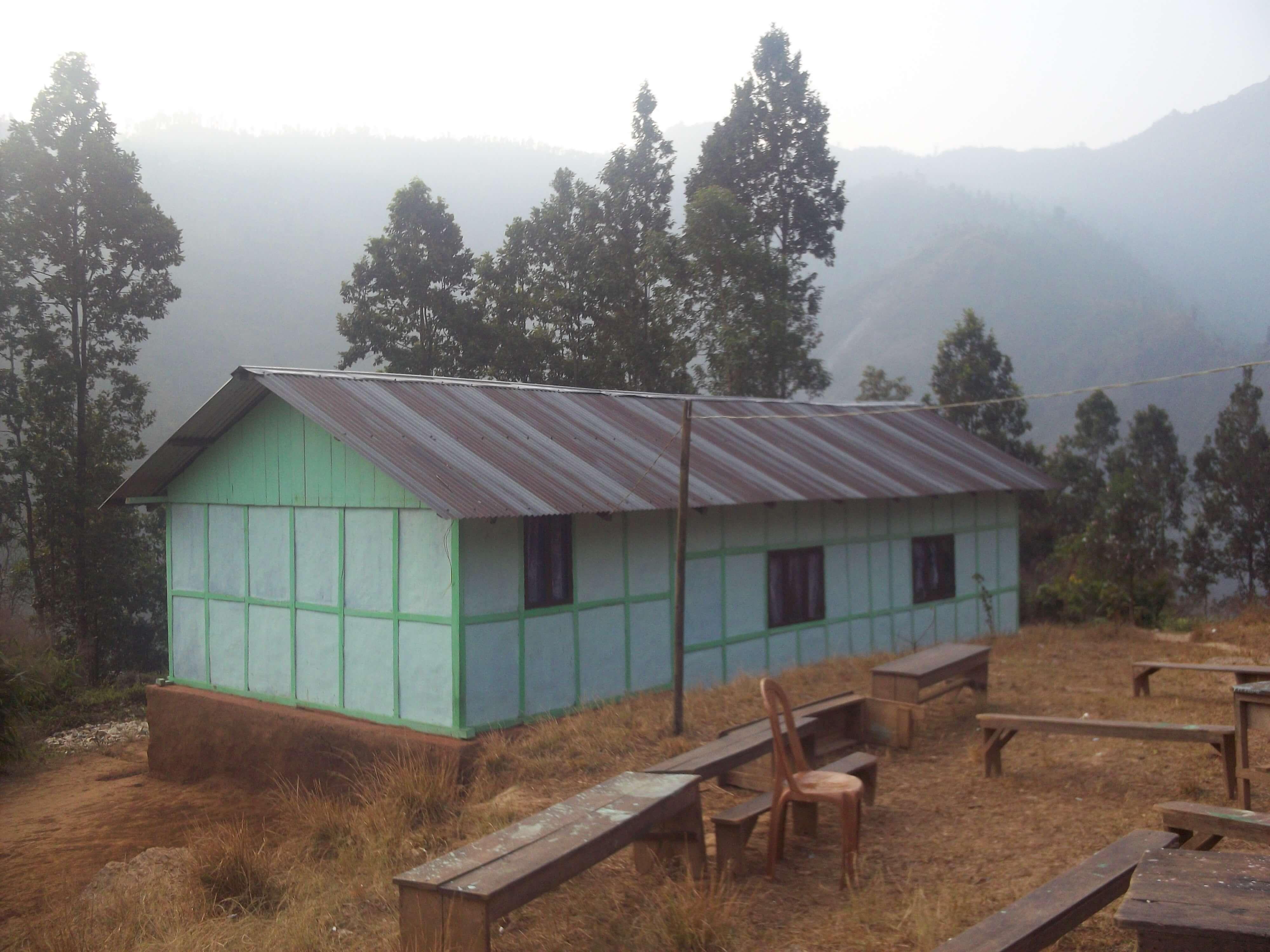 La petite église dans la montagne