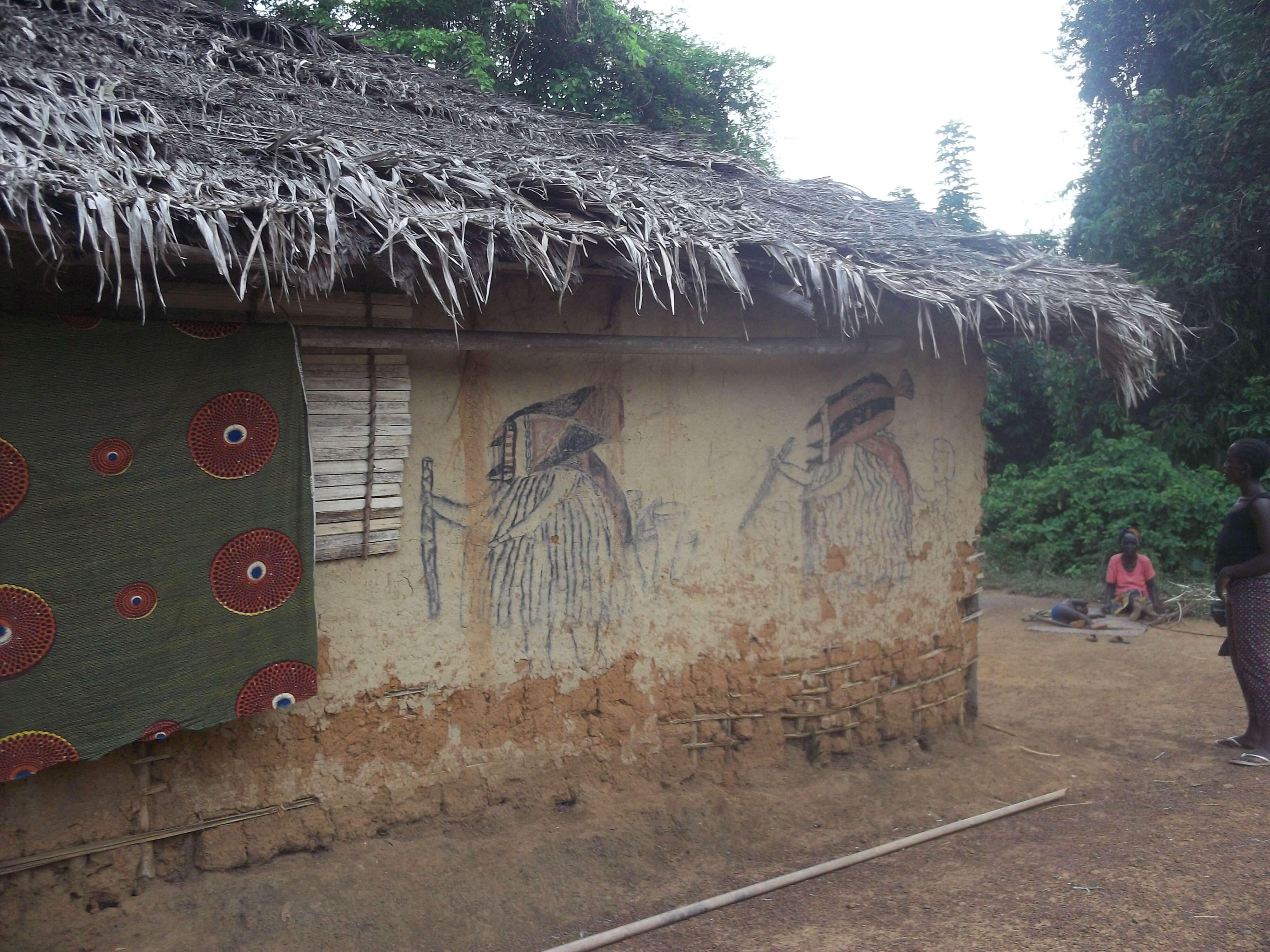 La maison du sorcier du village
